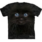 Футболка The Mountain Black kitten face