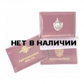 Обложка АВТО МВД РФ с металлической эмблемой кожа