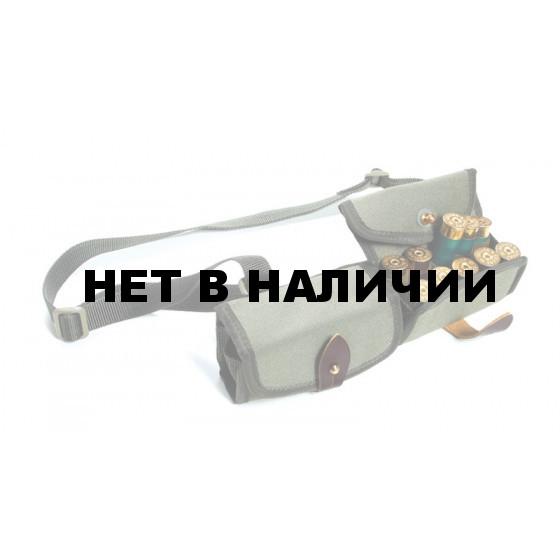 Патронташ плечевой двухрядный на 20 патронов кордура (П-35)