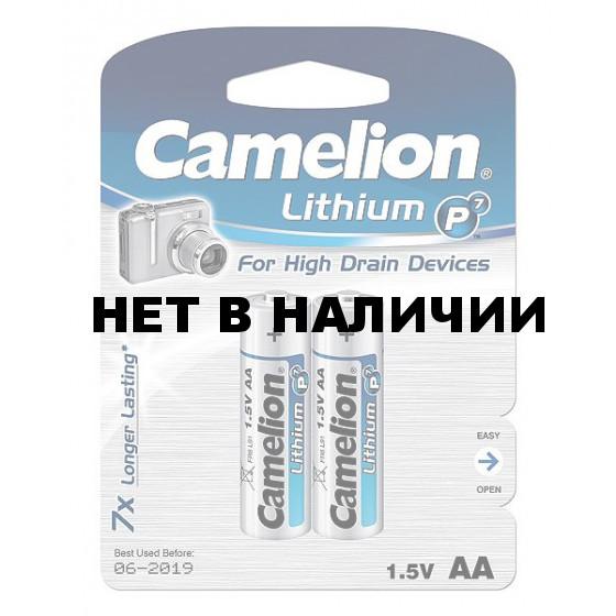 Батарейка Camelion Lithium AA