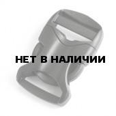 Пряжка фастекс 20 мм 1-30067/1-30066 (2 части) одна регулировка черный Duraflex