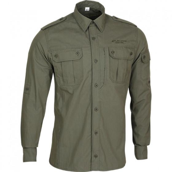 Рубашка Division олива