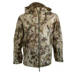 Куртка с капюшоном МПА-26 (ткань софтшелл), камуфляж питон скала