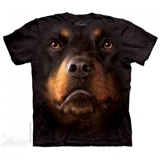 Футболка The Mountain Rottweiler face