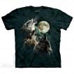 Футболка The Mountain Three wolf moon