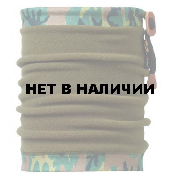 Бандана BUFF Angler Neckwarmer BUFF CAMU\MILITARY