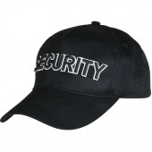 Бейсболка Security черная объемная вышивка