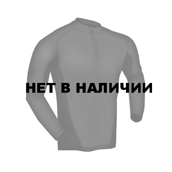 Термобелье фуфайка EF Shirt Long Sleeve 1/4 Zip Black Blackhawk