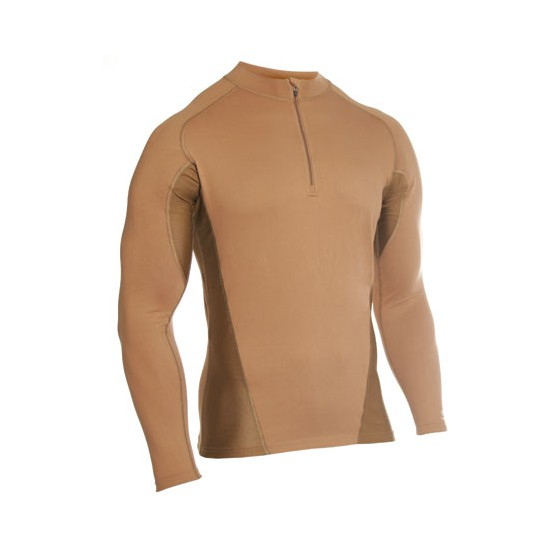 Термобелье фуфайка EF Shirt Long Sleeve 1/4 Zip Coyote Tan Blackhawk