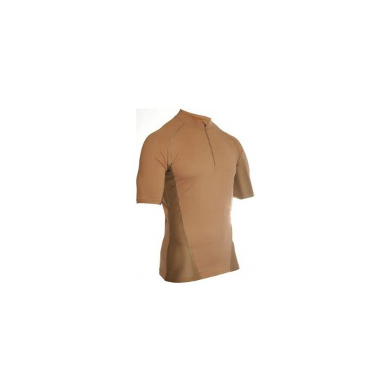 Термобелье футболка EF Shirt Short Sleeve 1/4 Zip Coyote Tan Blackhawk