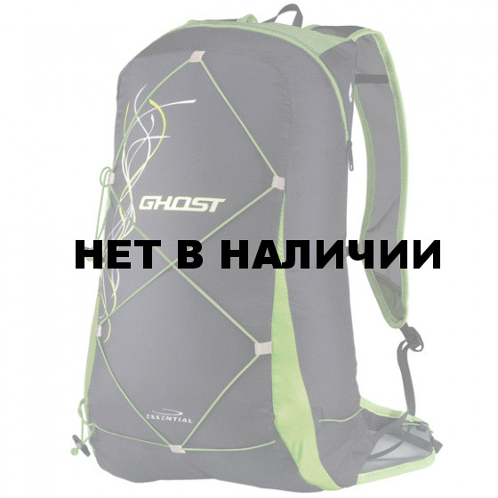 Рюкзак GHOST black/green (Camp)