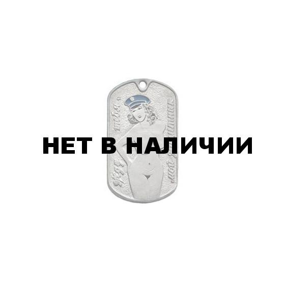 Жетон 10-13 Мой защитник голубая фуражка металл