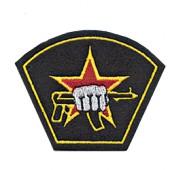 Нашивка на рукав Подразделение специального назначения вышивка шелк