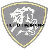 Нашивка на рукав Северо-Кавказский округ ВВ Конь вышивка шелк