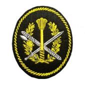 Нашивка на рукав УИС Аппарат территориальных органов вышивка люрекс