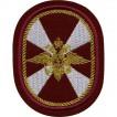 Нашивка на рукав Внутренние Войска овал вышивка люрекс