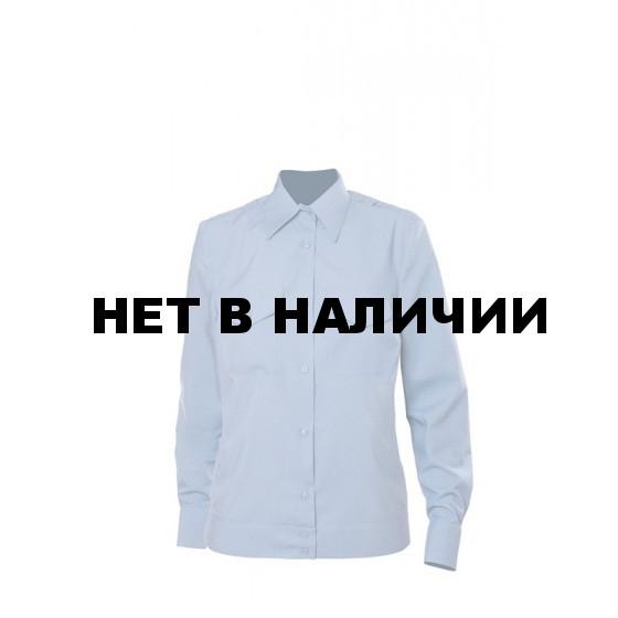 Рубашка форменная Голубая Женская с Д/р OLD