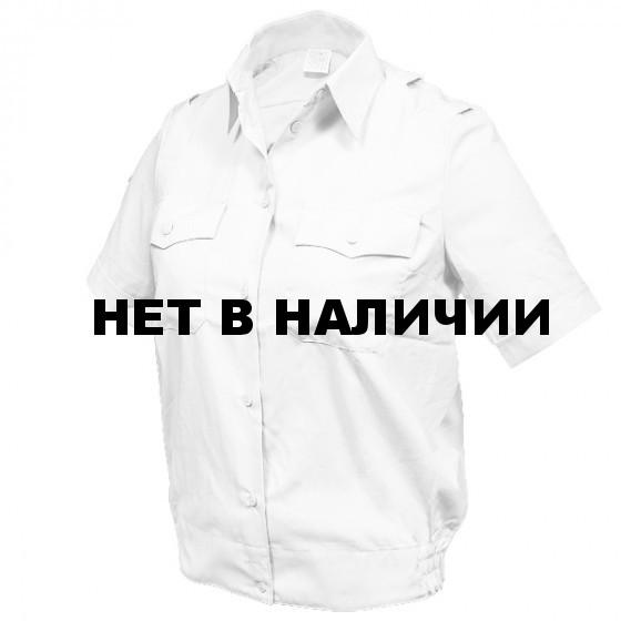 Рубашка форменная Белая Женская с К/р