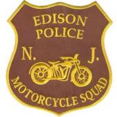 Термонаклейка -1527 Мотобатальон полиции Эдисона вышивка