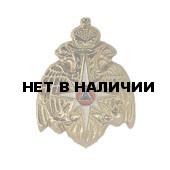 Миниатюрный знак МЧС орел металл