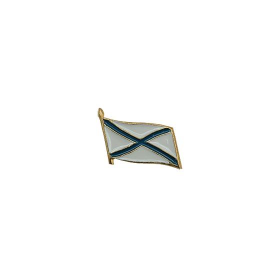 Миниатюрный знак Флажок Андреевский металл