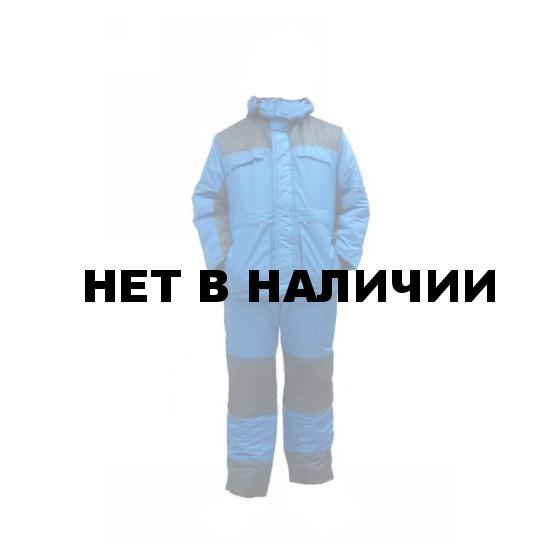 Костюм зимний УРАЛ-Комфорт васильковый с синим (твилл/файбертек)