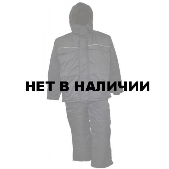 Костюм зимний УРАЛ-Комфорт иссиня-черный