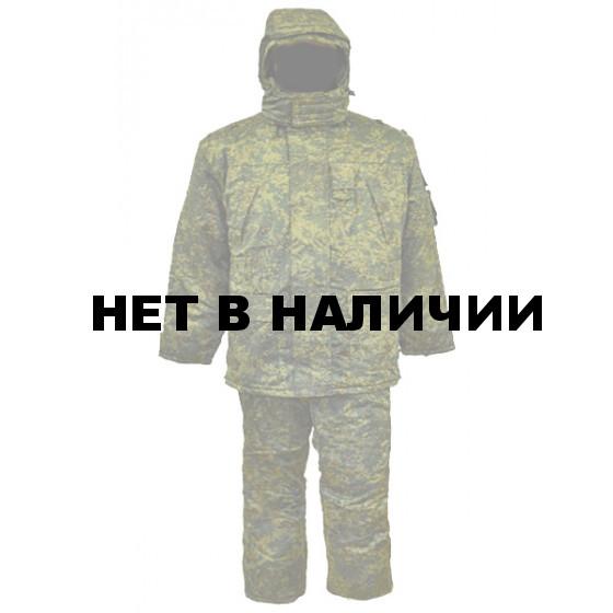 Костюм зимний МПА-03, камуфляж зеленая цифра (грета/файб)