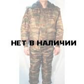 Костюм зимний СВЯТОГОР, камуфляж зеленый камыш (оксф, файб)