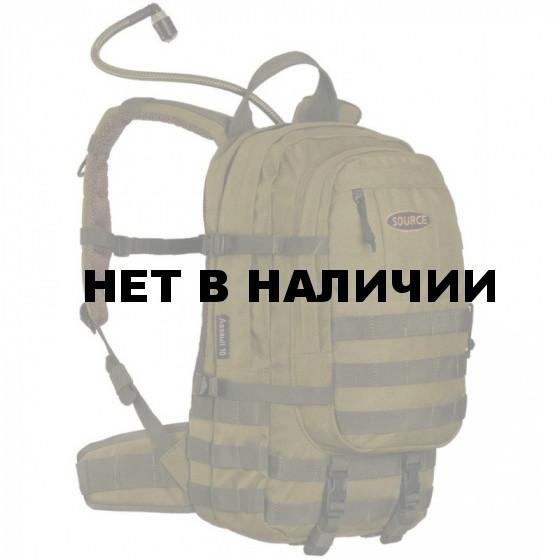 Рюкзак с питьевой системой ASSAULT 18L WXP Olive
