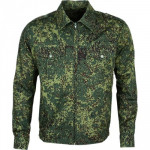 Куртка офицерская полевая цифровая флора рип-стоп