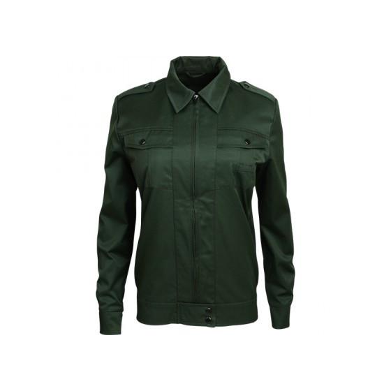 Куртка летняя Охранник М2 женская зеленая гретта