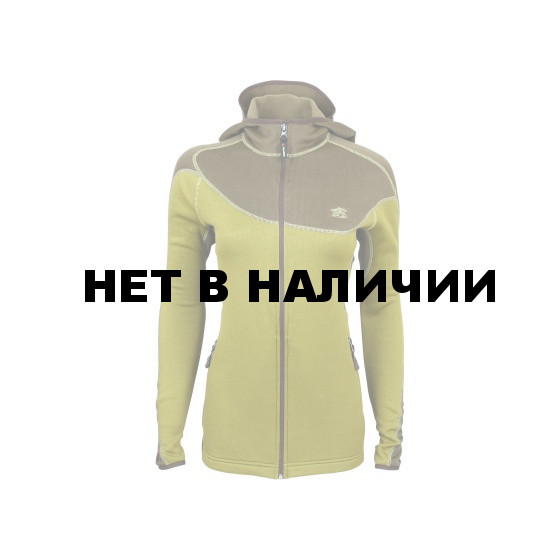 Куртка женская Jannu Polartec mustard/brown