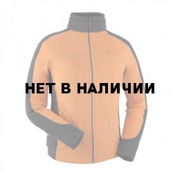 Куртка женская Lissa Polartec 100 carrot/black