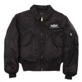 Куртка CWU 45-P Black Alpha Industries