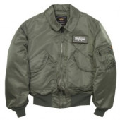 Куртка CWU 45-P Sage Green Alpha Industries