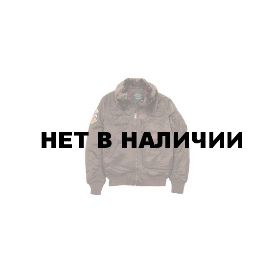 Куртка INJECTOR X brown Alpha Industries