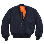 Куртка Ma-1 Replica Blue Alpha Industries
