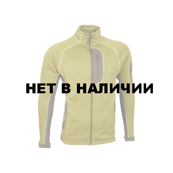 Куртка Macalu 2-цветная Polartec mustard/brown