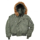 Куртка N-2B Short Waist Parka Sage Green Alpha Industries