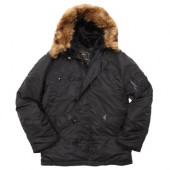 Куртка N-3B Parka Black Alpha Industries