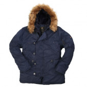Куртка N-3B Parka Blue Alpha Industries