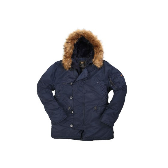 Куртка N-3B Parka Blue Alpha Industries