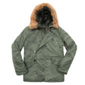 Куртка N-3B Parka Sage Green Alpha Industries