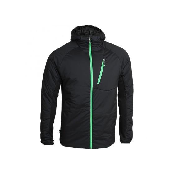 Куртка Resolve Primaloft черная с капюшоном