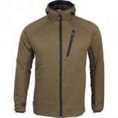Куртка Resolve Primaloft tobacco с капюшоном