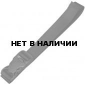 Крепежная стропа 25 мм с фастексом Duraflex 120 см 2 шт. черный