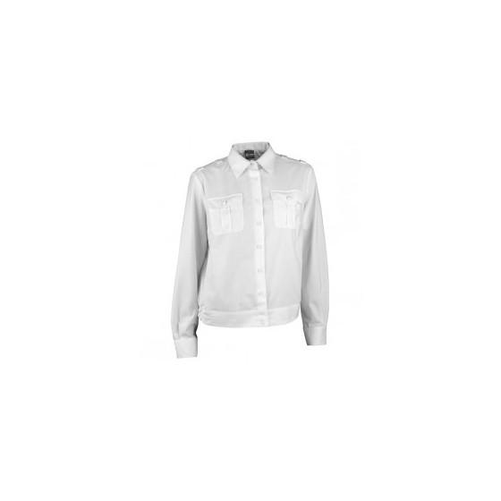 Рубашка форменная женская, длинный рукав, белая