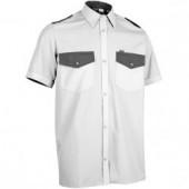 Рубашка Охранник, короткий рукав, белая