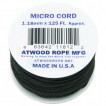 Паракорд Atwoodrope 1.18мм х 125 Micro Cord 38м hunter